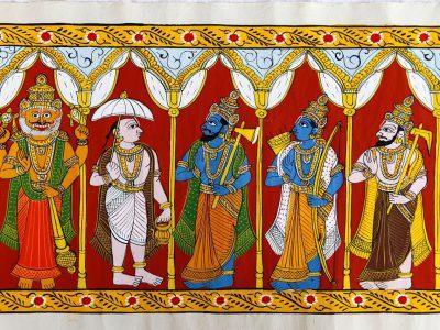 Indian Art and Craft – Cheriyal Scrolls