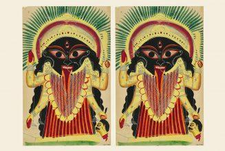 Indian Art and Craft – Kalighat Painting