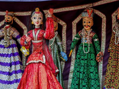 Indian Art and Craft – Kathputli/Puppetry