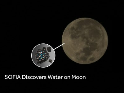 SOFIA Discovers Water on Moon