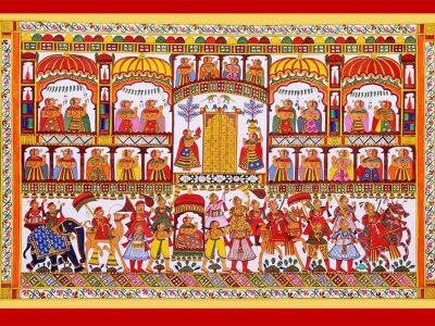 Indian Art and Craft – Phad Painting