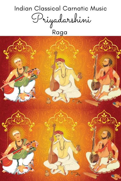 Priyadarshini is the janya raga of the 21st Melakarta raga Keeravani