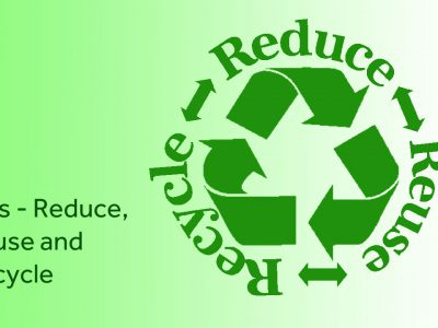 Three R's and Waste Management