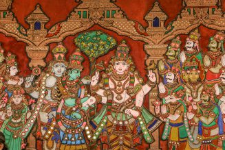 Indian Art and Craft – Thanjavur Painting