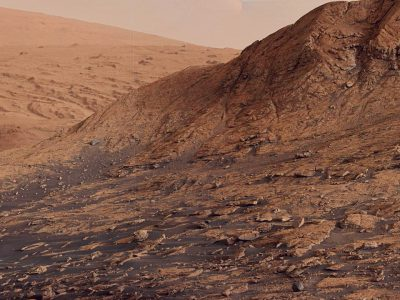 Why does Mars appear red?