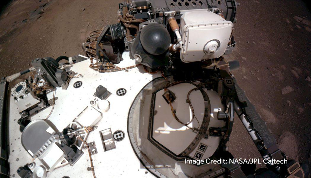 NASA's Perseverance Rover Landing Video