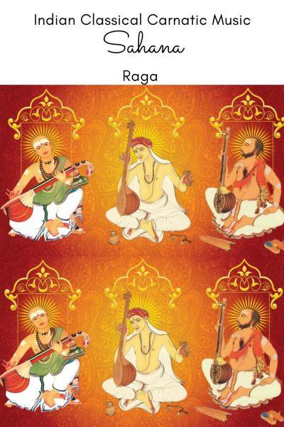 Sahana is the janya raga of the 28th Melakarta Raga Harikambhoji/Harikedaragowla