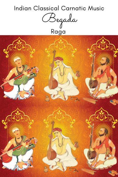 Begada is the janya raga of the 29th Melakarta Raga Dheera Shankarabharanam commonly known as Shankarabharanam