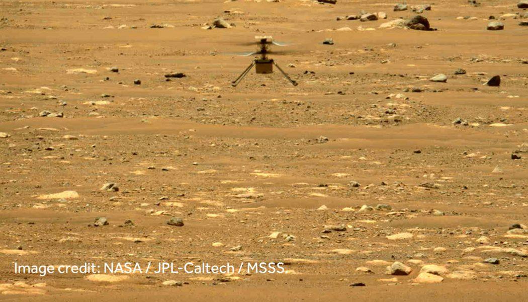 NASA's Ingenuity Helicopter in Mars