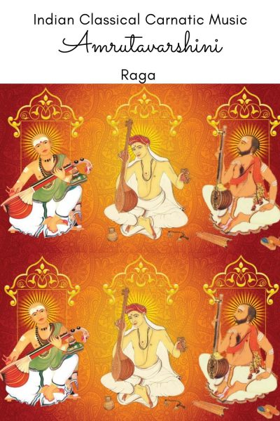 Amrutavarshini is the janya raga of the 66th Melakarta Raga Chitrambari