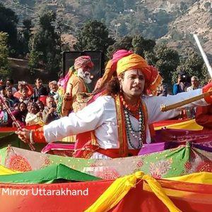 Indian Art and Craft – Garhwali Dance