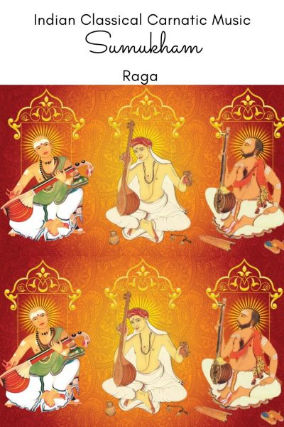 Sumukham is the janya raga of the 69th Melakarta Raga Dhatuvardhani