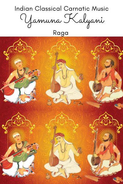 Yamuna Kalyani is the janya raga of the 65th Melakarta Raga Mechakalyani