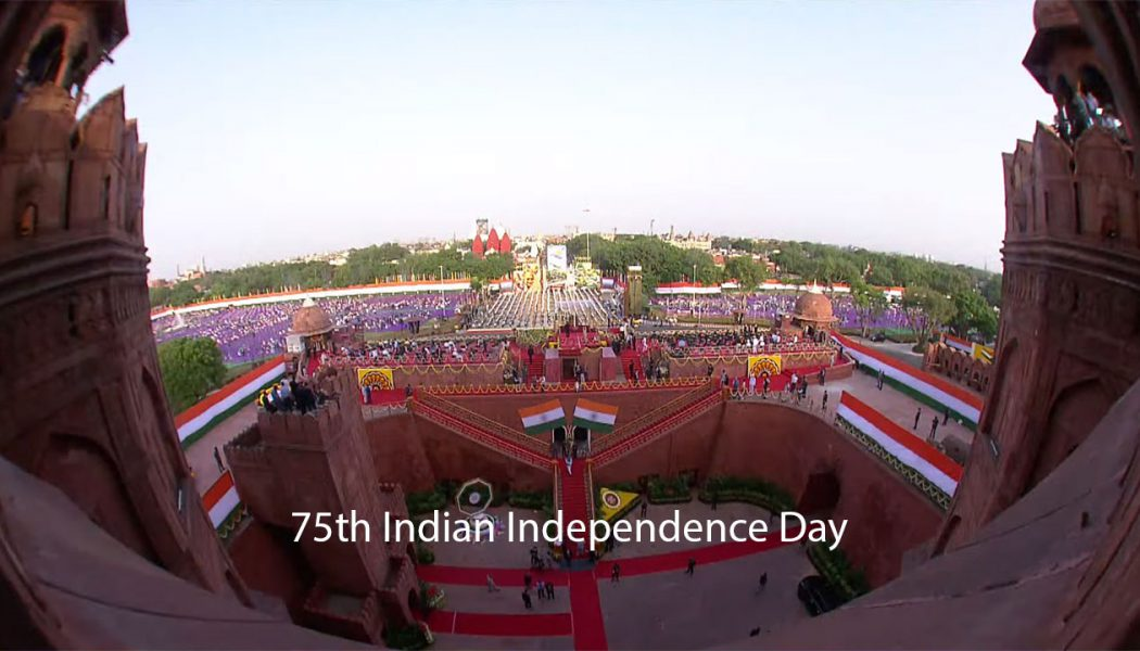 75th Indian Independence Day Celebrations