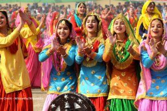Indian Art and Craft – Giddha Dance