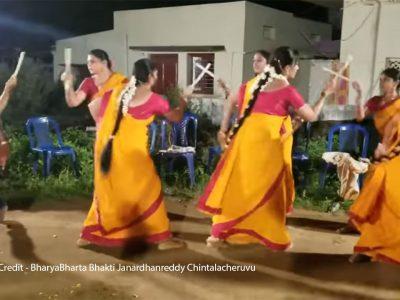 Indian Art and Craft – Kolattam Dance