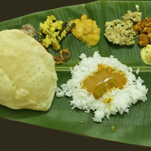 Traditional Kerala Sadya